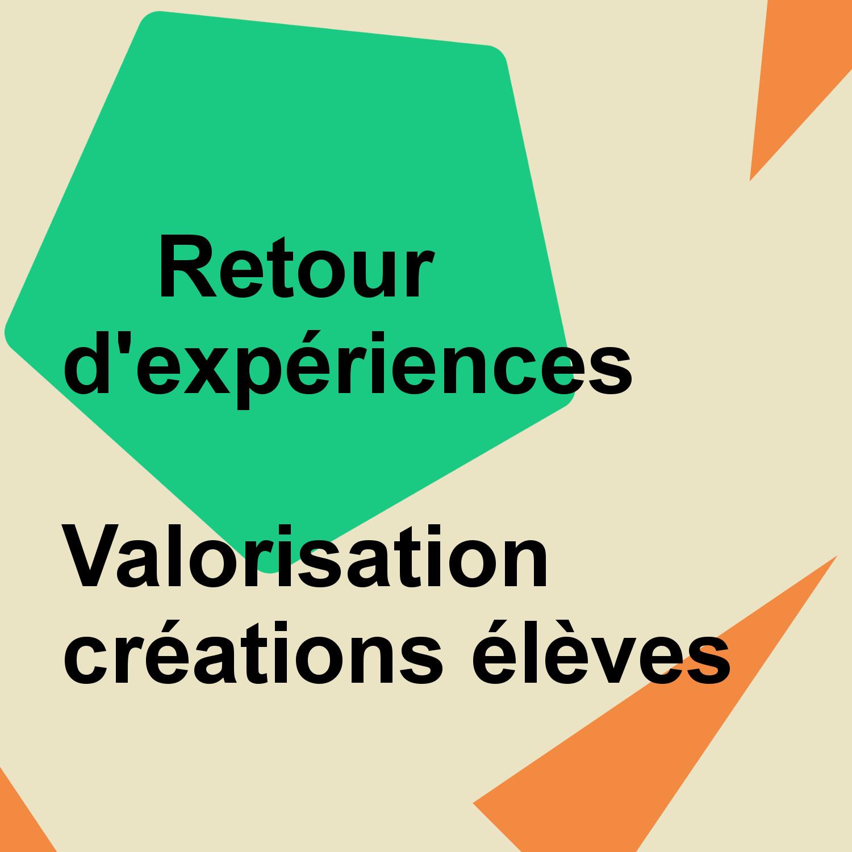 Modèle Retour experience création Elèves2019