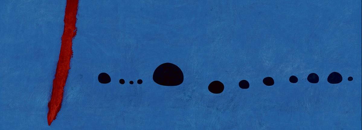 Permalien vers:Les «3 bleus» de Juan Miro