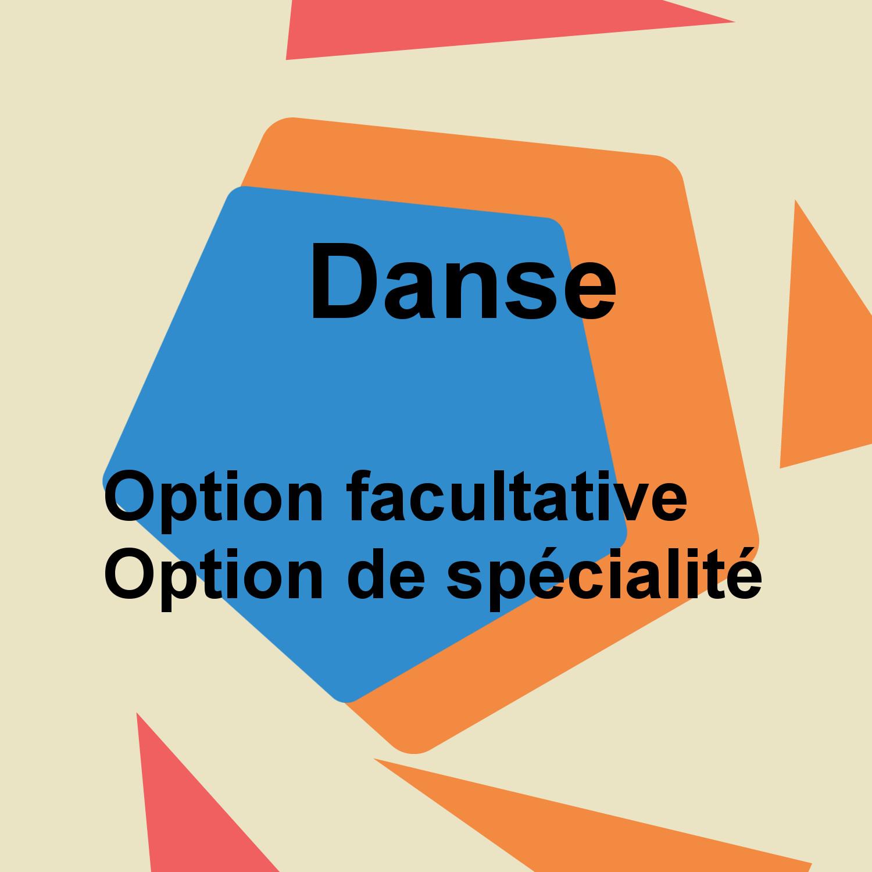 Options facultatives Danse