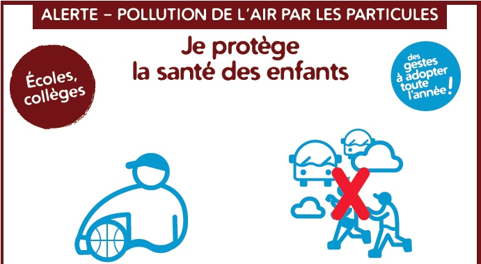 Pollution de l'air : gestes à adopter