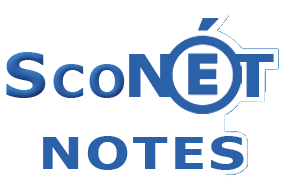 Sconet notes