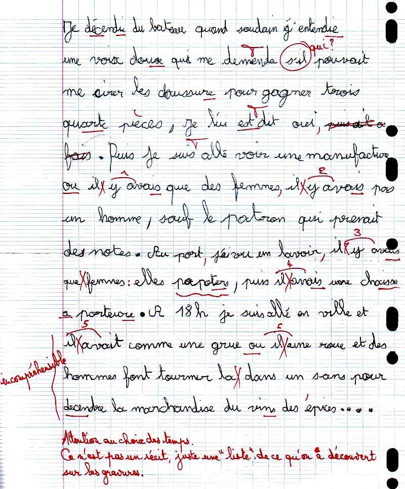Exemple de resume de texte en francais