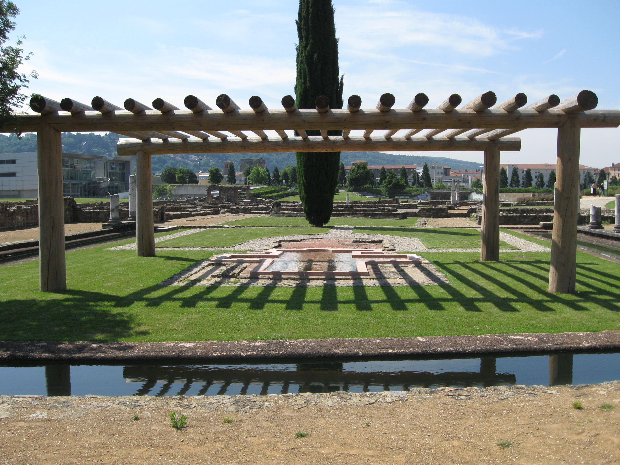 Mus e gallo romain web coles bourgoin 2 - Piscine st romain en gal ...
