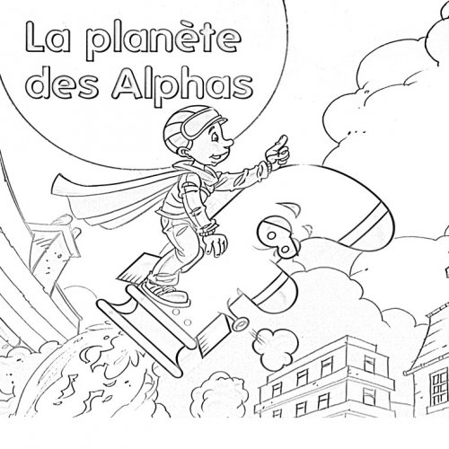 Coloriage Fee Des Alphas.Presentation Webecoles Bourgoin 2