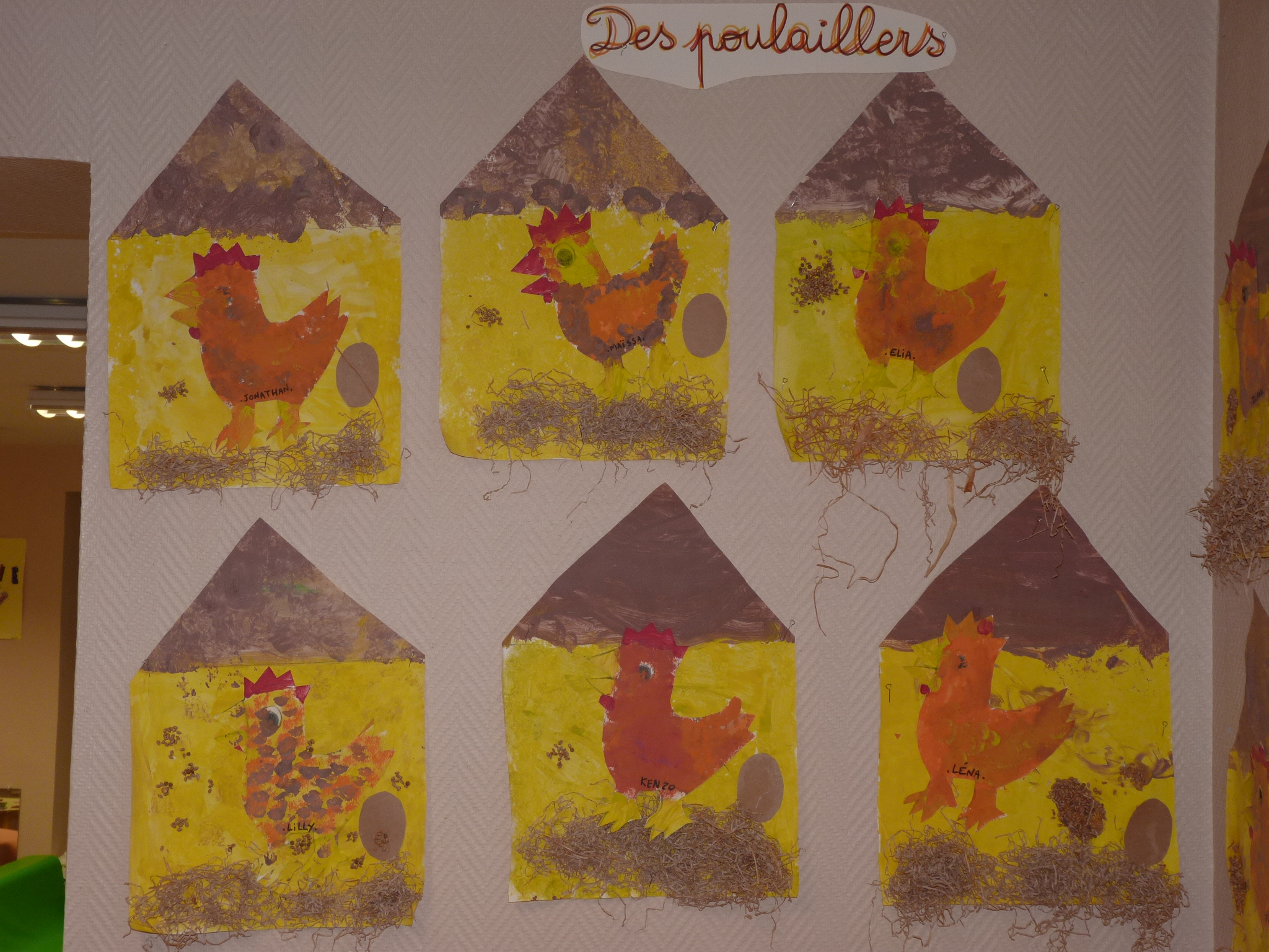 La petite poule rousse on pinterest chicken crafts little red hen and bricolage - Bricolage jardinerie grenoble ...