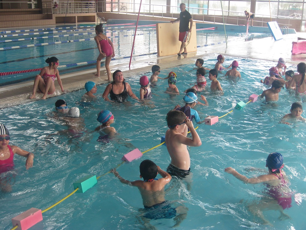 images evaluation piscine maternelle