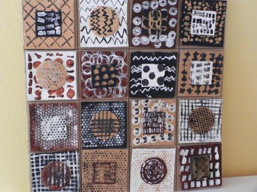 tissu africain maternelle