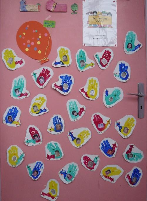 Nos techniques de peinture web coles circonscription for Decoration porte de la classe
