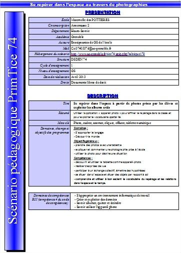 Tice 74 Site Des Ressources P 233 Dagogiques Tice Sc 233 Nario