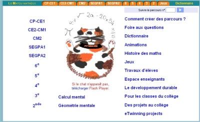 Tice 74 Site Des Ressources Pedagogiques Tice Selection De Logiciels En Mathemathiques
