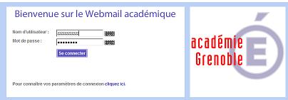 Ac grenoble webmail